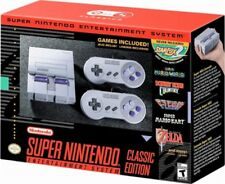 SNES Classic Edition Mini Super NES Nintendo Entertainment System Console new