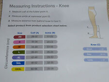 Anti-Embolic Stockings Medical Compression Stockings Med Size Knee fitting