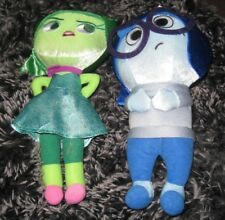 DISNEY new INSIDE OUT plush 12 DISGUST or 11 SADNESS
