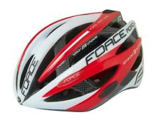 FORCE ROAD PRO Cycling Helmet White-Red