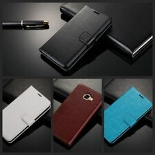 Wallet Mobile Case Leather Phone Cover For iPhone 7 6 Samsung Galaxy S3 J5 A3