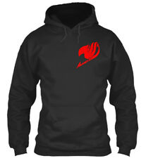 Stylish Red Fairy Tail Logo Standard College Hoodie Standard College Hoodie