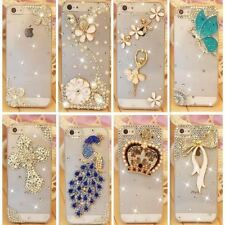Rhinestone Phone Case Diamond Cover Mobile Back Metallic Pouch For iPhone 7 6 5