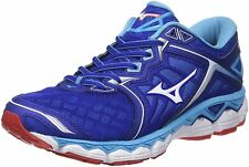 Mizuno Men's Wave Sky Supportive Running Shoes, Blue