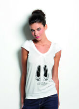 T-SHIRT DONNA MAGLIA MANICA CORTA MICROMODAL MY SHOES SENSI' MADE IN ITALY