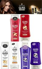 Schwarzkopf Gliss Keratin Shampoo & Conditioner For Dry Damaged Color Thin Hair