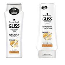 Schwarzkopf Gliss Keratin Total Repair Shampoo Conditioner For Dry Damaged Hair