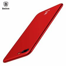 Phone Case For iPhone 7 6 6s 5 Ultra Thin Slim Cover PC Back Phone Pouch Shell
