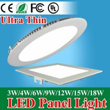 Ultra Thin Led Panel Downlight Round/Square LED Ceiling Recessed Lights Lamp