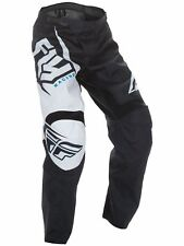Fly Racing 2017 f-16 Adulto Motocross MX MTB Bajada Pantalones Blanco / Negro
