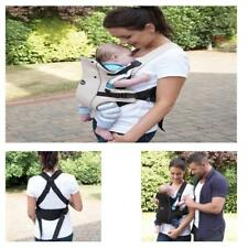 CLIPPASAFE CARRAMIO 2 POSITION BABY CARRIER BLACK/OATMEAL