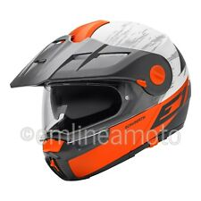 Casco Abatible Off-Road Schuberth E1 Crossfire Orange