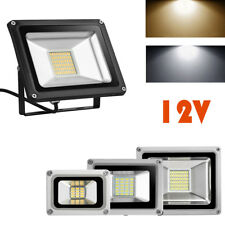 10W 20W 30W LED Floodlight 12V Cool/warm White Outdoor Security Wall  Light IP65