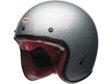 CASQUE JET BELL CUSTOM 500 SOLID SILVER FLAKE CHOIX TAILLE XS / XL