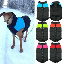 Waterproof Pet Dog Puppy Vest Jacket Solid Clothing Warm Winter Dog Clothes Sale