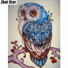 Diamond Embroidery Images Animal Cross Stitch Painting Mosiac Square Blue Crafts