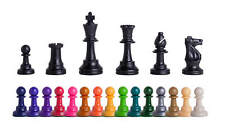 Triple Weighted Colored Regulation Plastic Chessmen