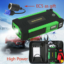 82800mAh LED 4 USB Car Jump Starter Pack Booster Charger Battery Power Bank 600A