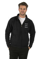 Embroidered Mens & Ladies Full Zip Sweat Jacket, Size XS to XXL