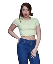 Donna Girl Woman Lady Crop Top Tank Top Canotta maglietta Sexy Camicia CROP.04