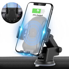 For iPhone X 8 Plus Samsung S9/+ QI Wireless Fast Charger Charging Dock Pad Mat