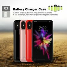 For iPhone X Battery Case Ultra Slim 5200mAh Power Bank Portable Charger CoverSY