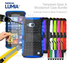 NOKIA LUMIA 735 - Anti-urto Custodia rigida, Mini penna & VETRO TEMPERATO