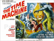 Poster THE TIME MACHINE, Yvette Mimieux, Rod Taylor