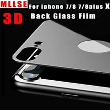 Tempered Glass For iPhone 8 7 3D Back Protector Film Scratch Proof Rear Protecti