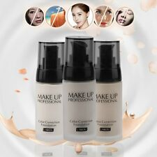 Professional Whitening Liquid Foundation Concealer Facial Makeup Liquid Cream WA