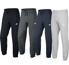 NIKE SWOOSH LOGO JOGGING BOTTOMS in BLACK/CHARCOAL/GREY & NAVY- FREE DELIVERY