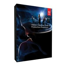 Adobe CS6 Production Premium • Creative Suite 6 English Full • Windows Mac