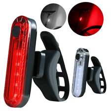 2019 USB Rechargeable Bicycle Tail Light Safety Cycling Warning Bike Rear Lamp