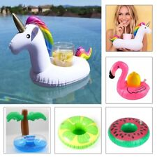 Inflatable Floating Drink Can Cup Holder Hot Tub Swimming Pool Beach Party