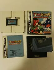 Game Boy GBA Super Mario Klax Crash Nitro V-Rally yoshis island pokemon caja