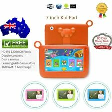 """Dual Camera 7"""" Android 4.4 Quad Core Kids Tablet 8GB WIFI HD Touch Screen PC SU"""