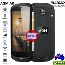 Tough Rugged AGM A8 5 Inch Screen Android 7.0 4G Quad-Core RAM OTG NFC Phone SU