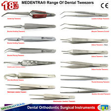 Dental Bracket Holding/Placing Tweezers Pinces orthodontiques Surgical Forceps