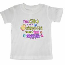 Inktastic This Chick Is Eggspecting To Be A Big Sister With Egg And Baby T-Shirt