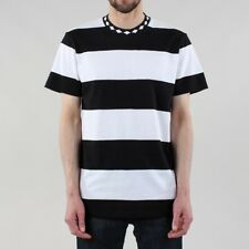 HUF Ace Stripe T-shirt - Black/White