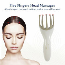 Five Fingers Scalp Squid Head Massager Body Remove Muscle Tension Man Woman SU