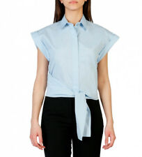 Pinko - Camisa 1G12YW-Y48F azul Mujer chica