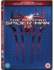 SPIDER-MAN - THE AMAZING SPIDER-MAN/Amazing Spider-Man 2 DVD NUOVO DVD (cdr4502)
