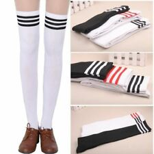 Women Long Stockings Cotton Foot Wear Over Knee High Thick Tight Skin Socks Sale
