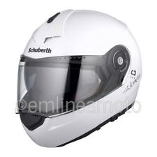 Casco Abatible Schuberth C3 PRO WOMEN Blanco Brillante