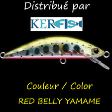Leurre poisson nageur slow sinking SSO MINO SSO & I 67 PAYO BKK RED BELLY YAMAME