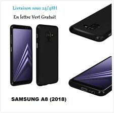 COQUE HOUSSE ETUI SILICONE GEL NOIR SAMSUNG GALAXY S9 /S9+/A8 2018/S8/S8+/S7/S6.