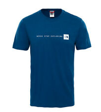 The North Face - Tee-shirt Nse Tee bleu Homme