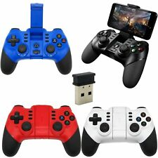 Wireless Joystick Bluetooth Game Controller Gamepad Receiver for PC Android IOS