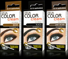 9xDelia® Professional Henna,Beautiful Eyebrow ALL Colors Cream+Easy Tint Kit Set